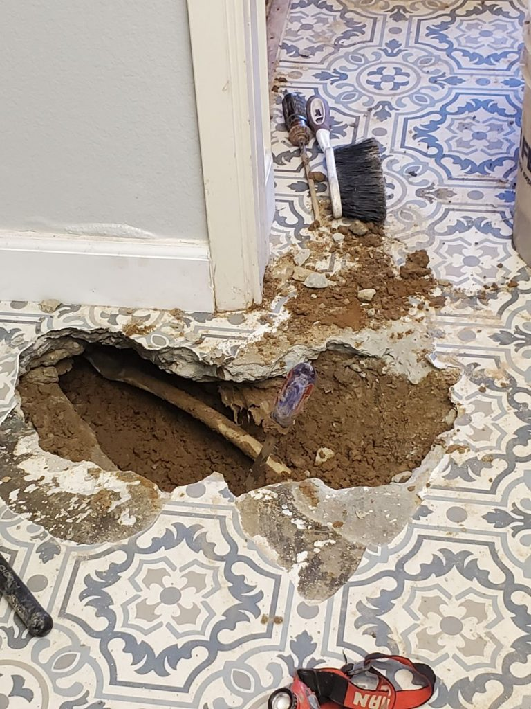 innovation plumbing slab leak 1